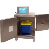 Waste release monitor