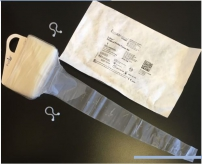 Disposable sterile sleeves for gamma probes, CE class IIA